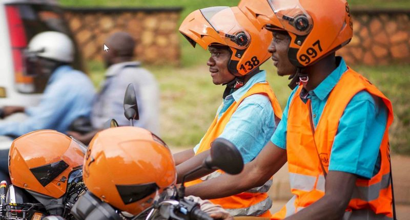 SafeBoda food delivery